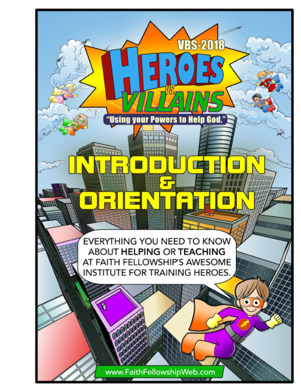 VBS 2018  Orientation Manual